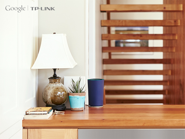 The OnHub router. Image courtesy of Tp Link.