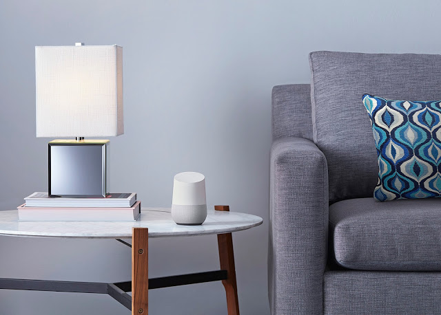 Google's proposed Home speaker and AI assistant.