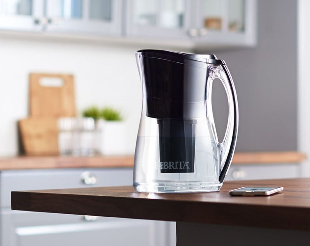 The Wi-Fi connected Brita pitcher sells for $44.99.