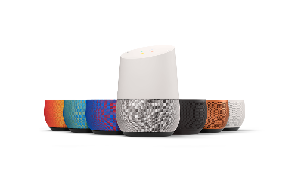The Google Home sells for $129 and you can choose which color base makes the most sense for your home.