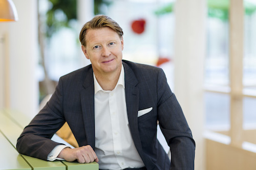 Hans Vestberg, CEO of Ericsson. Image courtesy of Ericsson.
