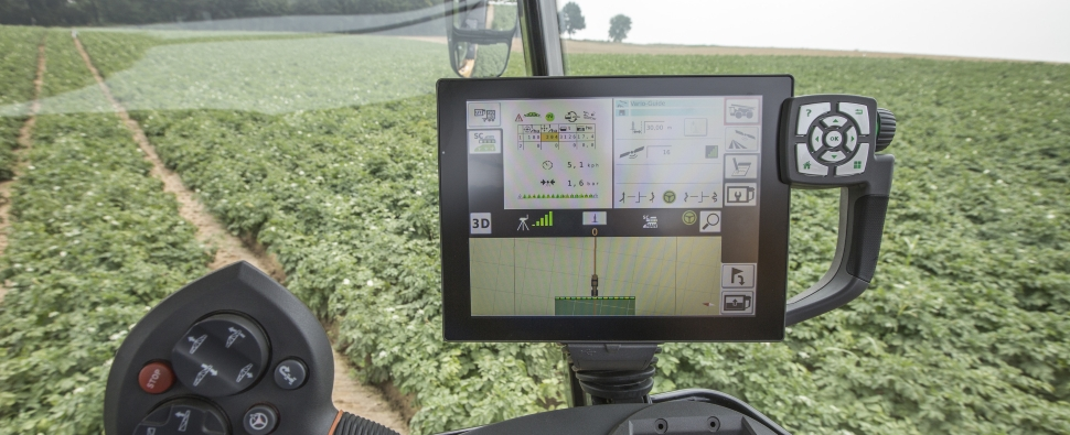 Farmers have had self-driving tractors for a while. Sensor-fueled smarts make them better.