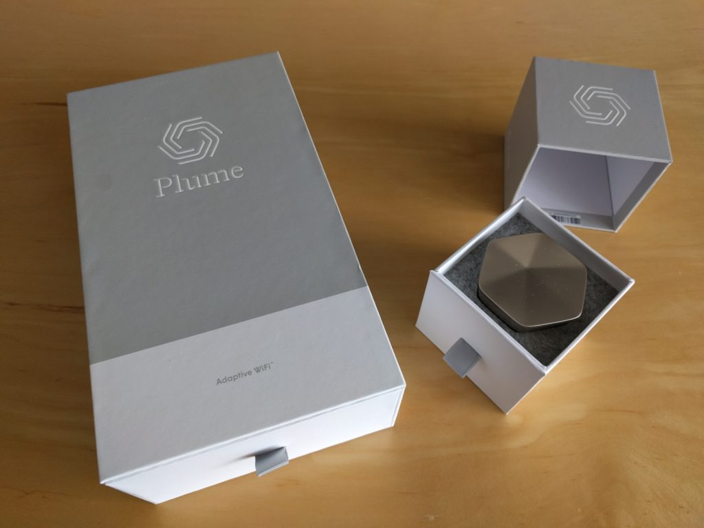 The Plume WiFi pods